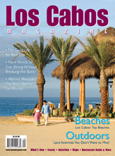 front cover - los cabos magazine issue 19 - winter 2009