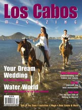 front cover - los cabos magazine issue 25 - spring 2011