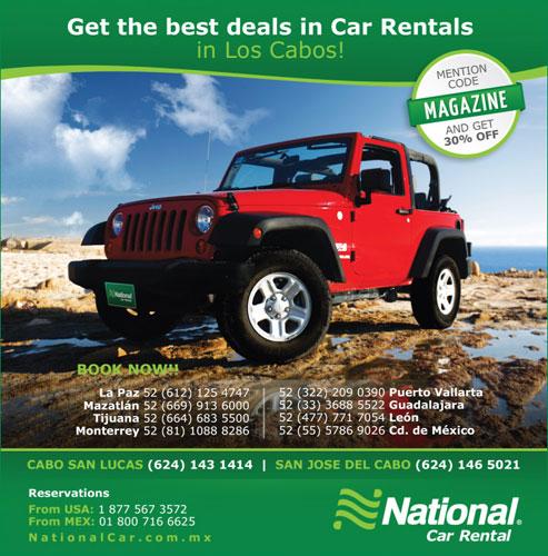 San Jose Del Cabo National Car Rental