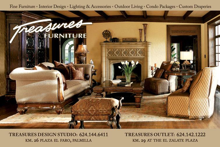 Treasures Furniture Ad Proofs San José del Cabo Los