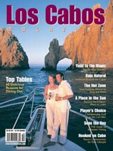 los cabos magazine cover - issue 9 - summer 2004