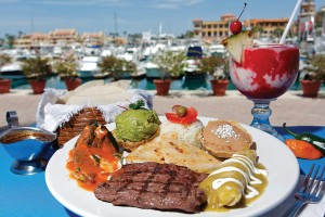 Mango Cantina on the Cabo San Lucas Marina serves up delicious Mexican feasts. Photo By Carlos Aboyo