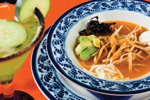María Corona specializes in traditional Mexican food, including its popular tortilla soup. Photo By Francisco Estrada