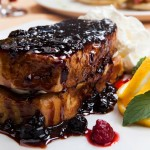 French Toast - with berrys salsa