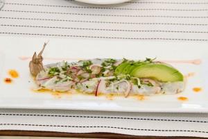 Aguachile Shrimp with chipotle aioli