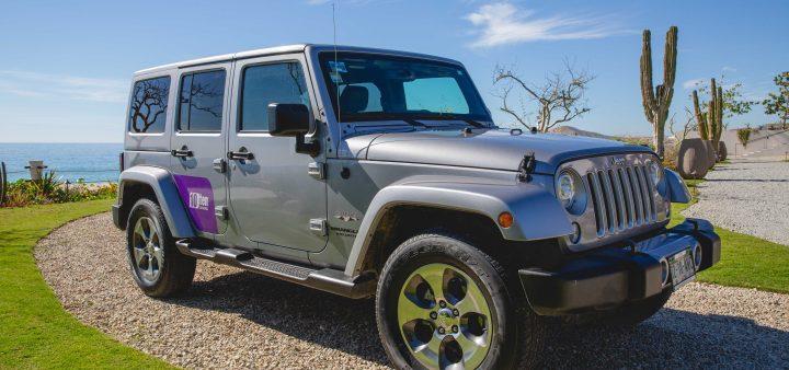10Ten Car Rental, Jeep.