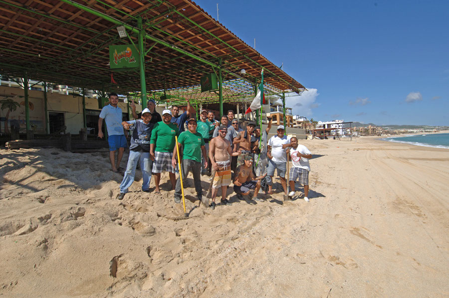 Cabo Cleanup After Odile Sept 26th