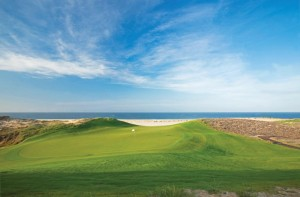 The new Tiger Woods golf course at Diamante, one of Los Cabos' most prestigious master-planned development communities.