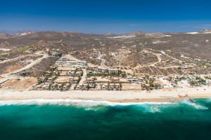 The condos and beachfront homes of El Encanto are located just east of San José del Cabo.