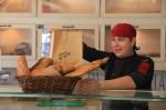 Bread Selection – Sourdough Bread, tartan, Baguette & focaccia.