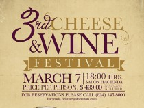 Sheraton to Host Cheese & Wine Festival
