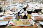 Feast on Italian and views of the Cabo San Lucas Marina at Presto.