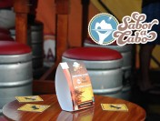 A fun look at yesterday's Beer Festival, part of the Sabor a Cabo wine and food fest.