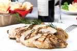 The chicken at Romeo & Julieta is grilled to perfection.